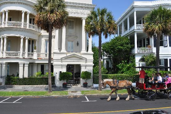, : more Charleston style