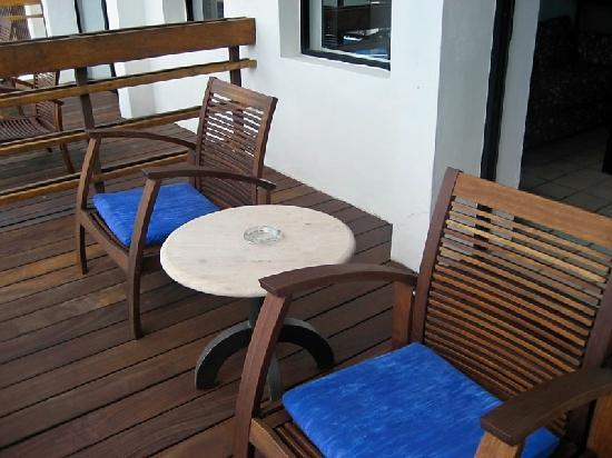 Raintrees Villa Vera Puerto Vallarta : My Balcony was one of the newer updated ones they had 