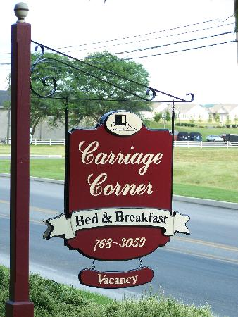 Carriage Corner Bed And Breakfast Intercourse Pa