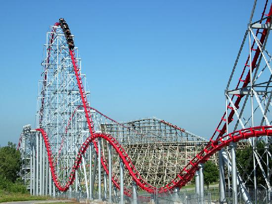 205 Foot Tall Mamba Roller Coaster Picture Of Worlds Of