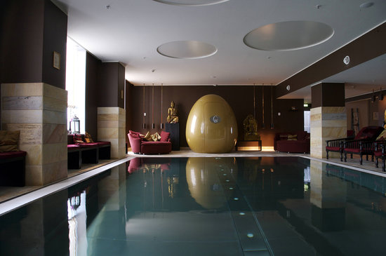 Hilton Copenhagen Airport: Nimat Spa pool