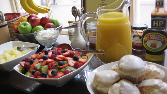 Arches Guesthouse: Freshly prepared breakfast
