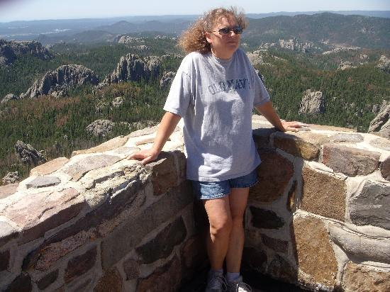 Elk Ridge Bed & Breakfast : On top of Harney Peak
