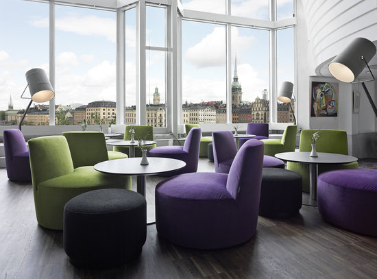 Hilton Stockholm Slussen: Panorama sitting area
