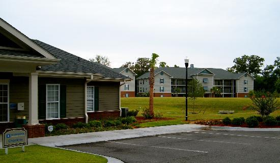 Santee, SC: Wyndham office and view of the units