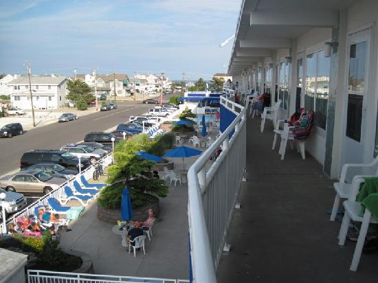 The Concord Suites: Looking east toward the Atlantic Ocean