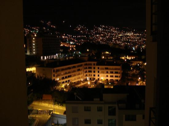 Dorisol Estrelicia: View from our room at night