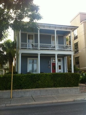 Arbor House Suites Bed and Breakfast: One of the restored 1903 buildings on the property