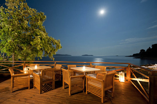 Kassandra Bay Hotel: deck