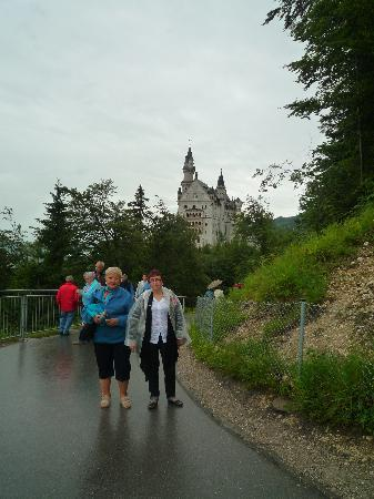 Holiday Inn Munich: subida al castillo Neuschwanstein