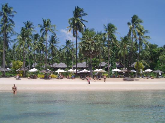 Coral Bay Resort: The beautiful beach without tide