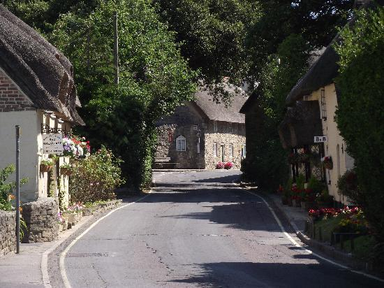 West Lulworth, UK: Lulworth village