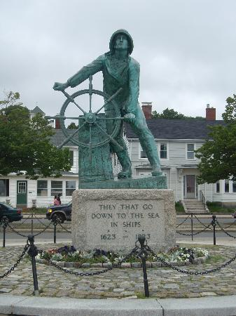 "The Inn at Babson Court: ""Fisherman at the Wheel"" - right across the street"