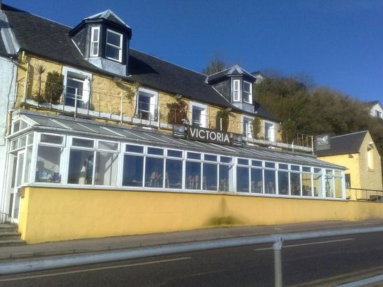 Tarbert, UK: Front of the hotel