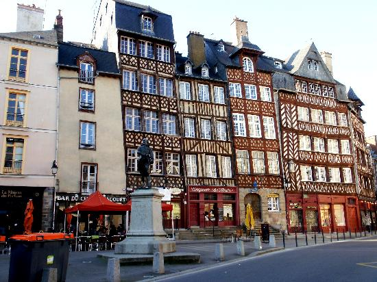 Rennes, France: Construcciones medievales