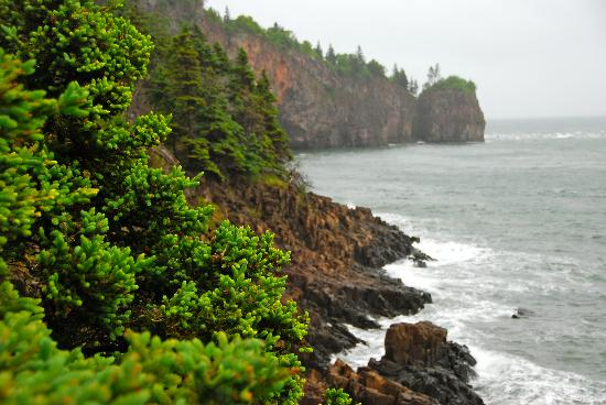 Advocate Harbour, Canada: Cliff near the house