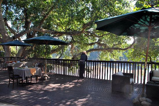Singwe River Lodge: breakfast