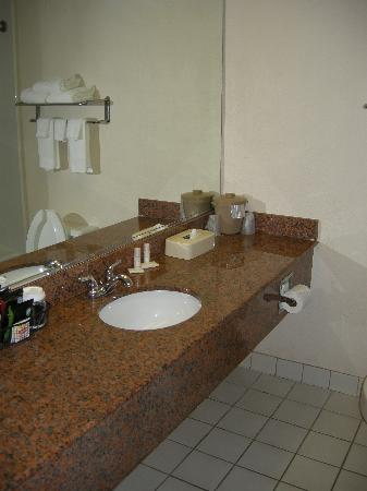 Capital Plaza Hotel: The bathroom