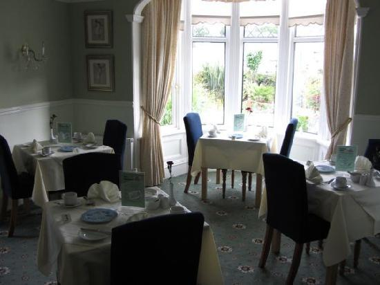 Bentley Lodge: breakfast room