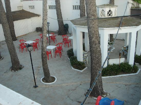 La Palmera: terraza chill-out