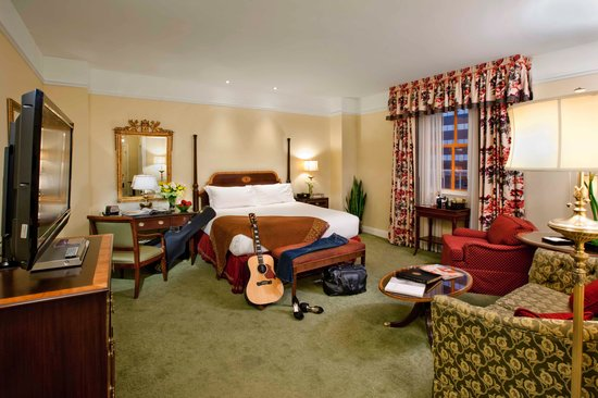 A Deluxe Room at The Hermitage Hotel