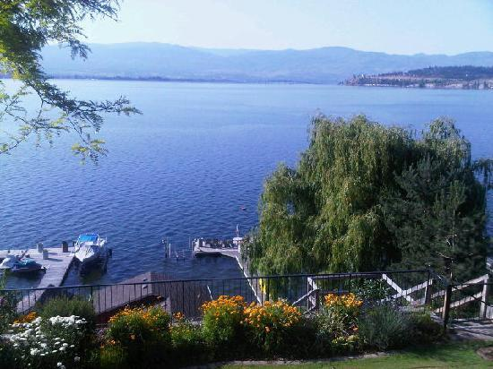 Willow Beach Bed and Breakfast: View from the Lake View Room