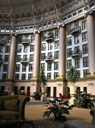 West Baden Springs, IN: just one wall of rooms