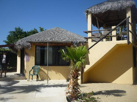 Cabo Pulmo Beach Resort : Outside View of Balcony in Unit 7