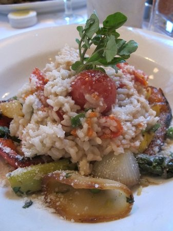 Hamersley&#39;s Bistro: Vegetable Risotto