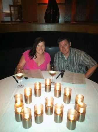 Hilton Branson Convention Center : Dinner with Candles