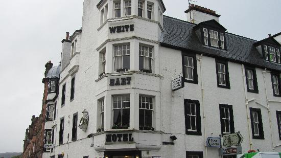 Exterior of White Hart Hotel