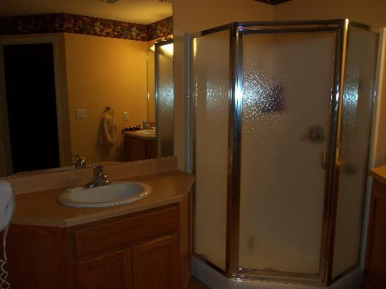 Falls Village Resort: Bathroom of 1 bedroom apartment