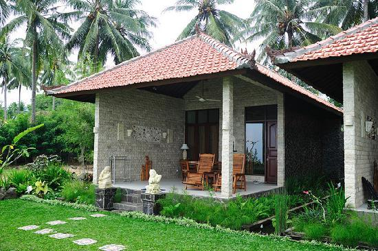 Candidasa, Indonesia: The villa we stayed