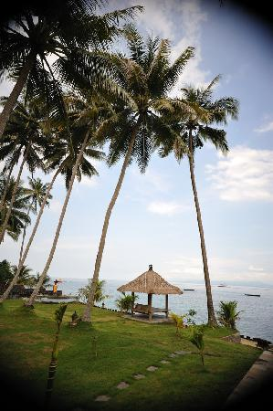 Candidasa, Indonesia: the little hut - nice place to read & relax
