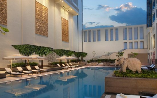 Marriott Hotel Jaipur : swimming pool