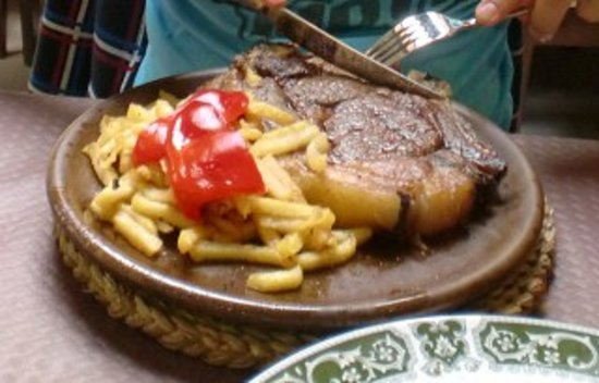 La parrilla ribadesella restaurant reviews phone for Asturias cuisine