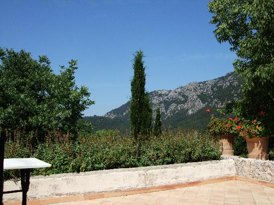 Orient, Spain: View from our Junior Suite Terrace, Room 2