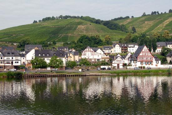 Hotel Zur Morschbach: Town of Zell and the Moselle is 5 mins away