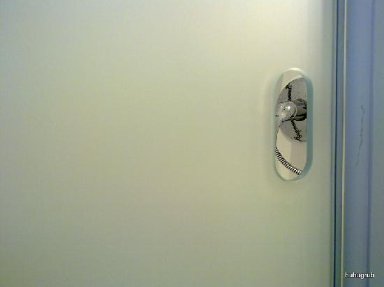 Ibis Budget Mainz Hechtsheim: Interesting shower door