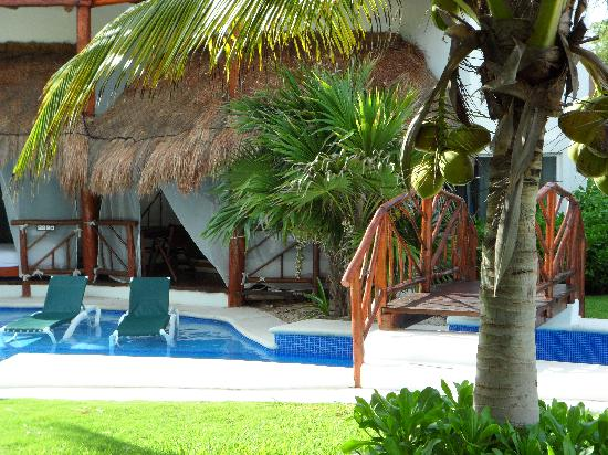 El Dorado Casitas Royale, by Karisma: Our room from accross the pool