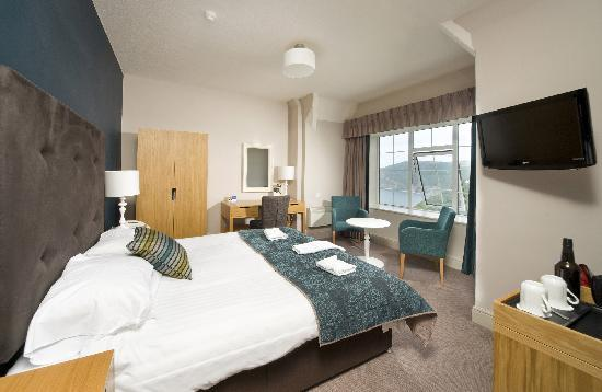 Lynton, UK: Upgrade Room at the Bay Valley Of The Rocks