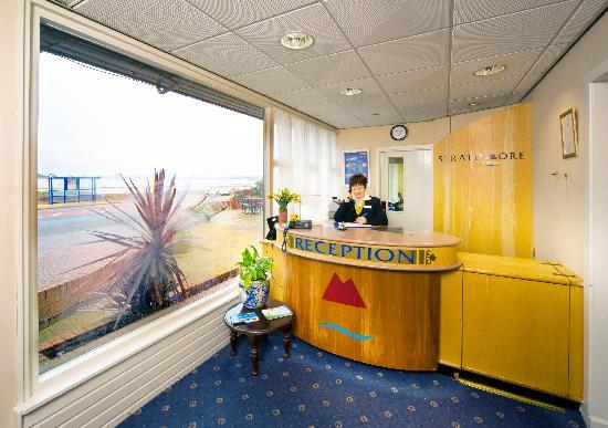Morecambe, UK: Reception at the Bay Strathmore Hotel