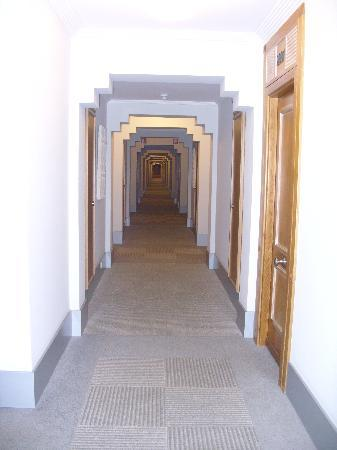 Melia Atlantico: corridors with carpet!