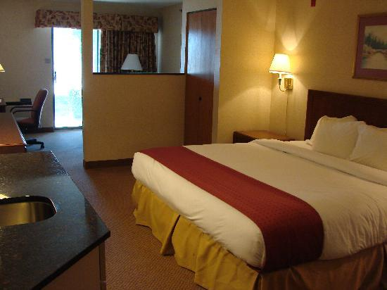 Riverport Inn Express Suites: King Mini-Suite