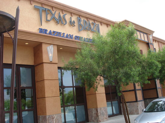 Texas de Brazil: Front of restaurant