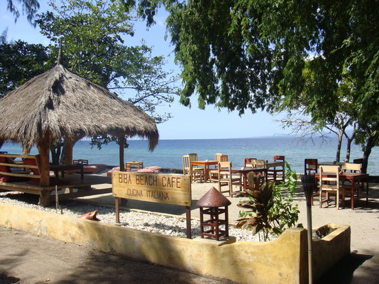 Gili Air, : das Restaurant