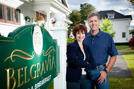 Belgravia Bed &amp; Breakfast: Owner/Operators D&#39;Arcy &amp; Anne McDonah