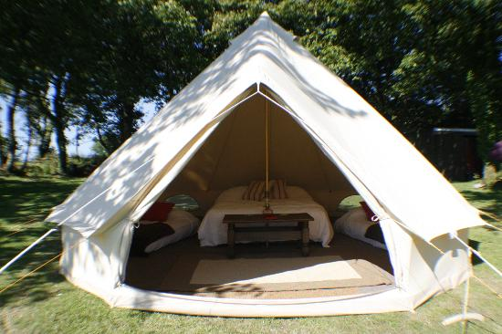 Haverfordwest, UK: Welcome to luxury camping in Pembrokeshire