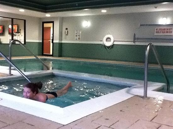 Holiday Inn Express Middletown / Newport: pool at Holiday Inn Express Middletown, RI