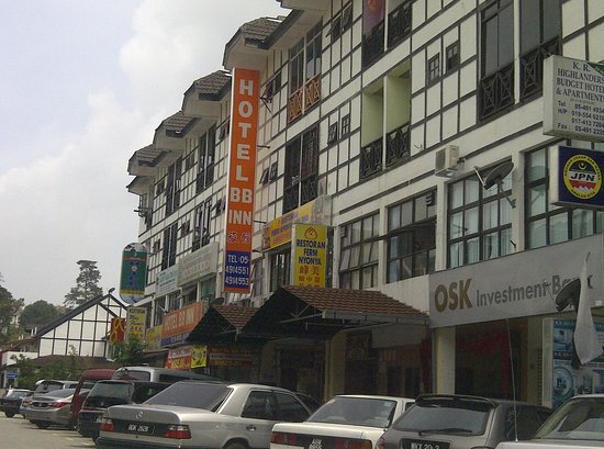Tanah Rata, Maleisië: HORRIBLE HOTEL